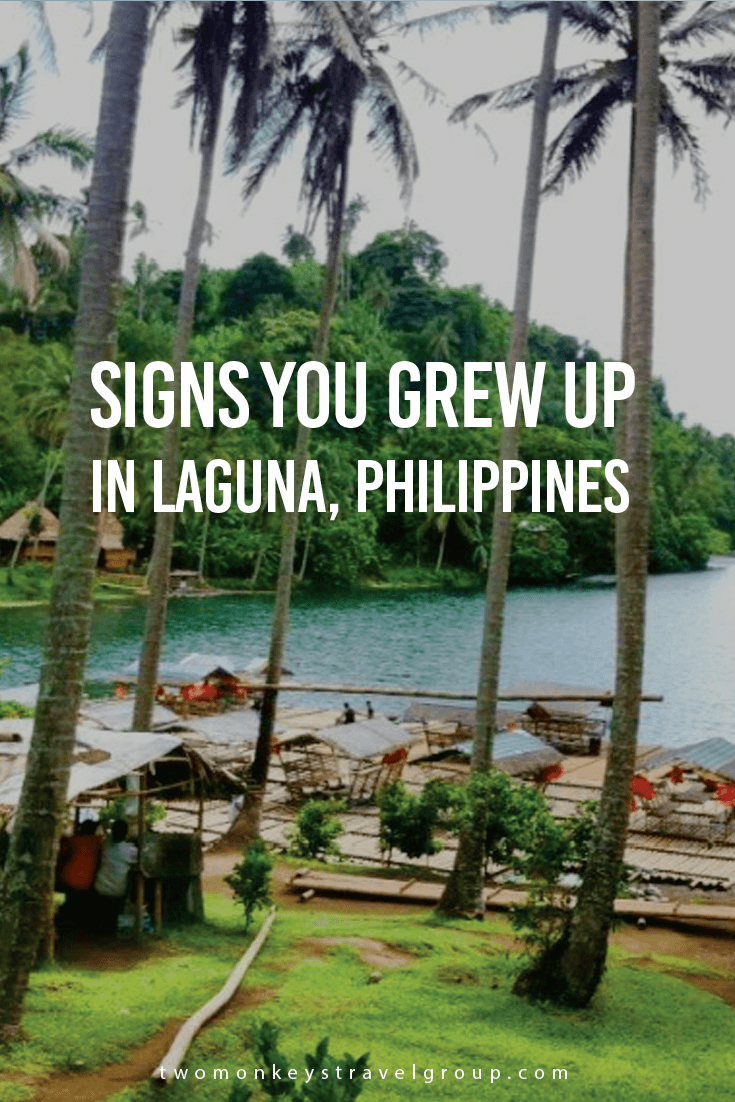 Signs You Grew Up or Lived in Laguna, Philippines