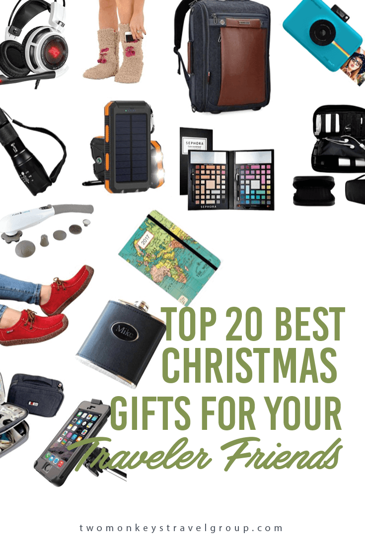 Top 20 best christmas gifts for your traveler friends for Christmas gifts for travelers