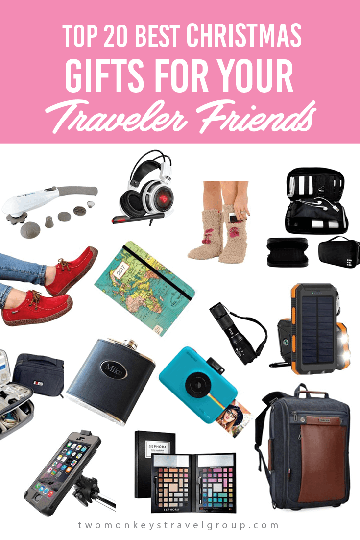 Top 20 Best Christmas Gifts for Your Traveler Friends
