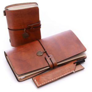 Traveler's Notebook Notepad with Pencil Case