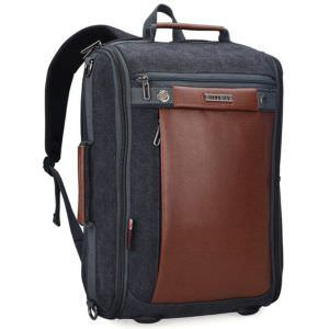 Witzman Vintage Canvas Laptop Backpack School College Rucksack Bag 2072