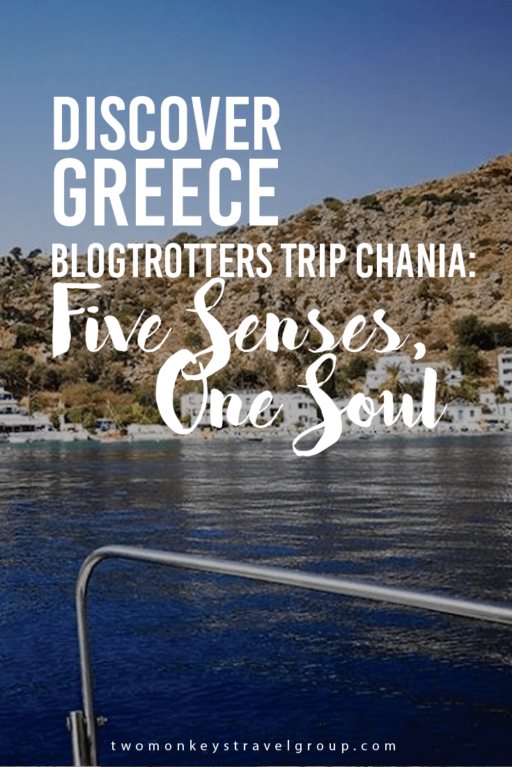 Discover Greece Blogtrotters Trip Chania: Five Senses, One Soul