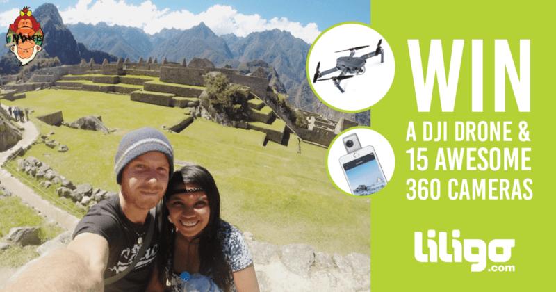 Liligo Drone and insta360 Camera Giveaway