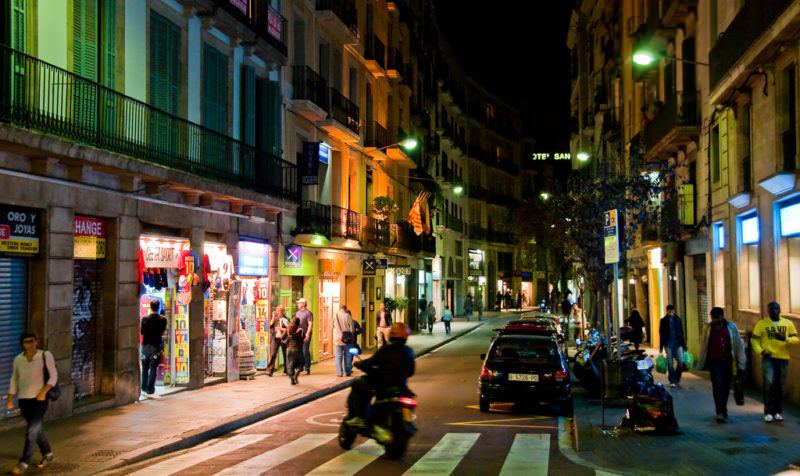 Nightlife in Barcelona