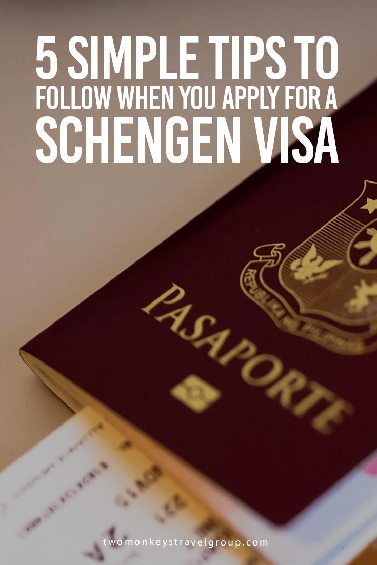 5 Simple Tips to Follow When You Apply For a Schengen Visa