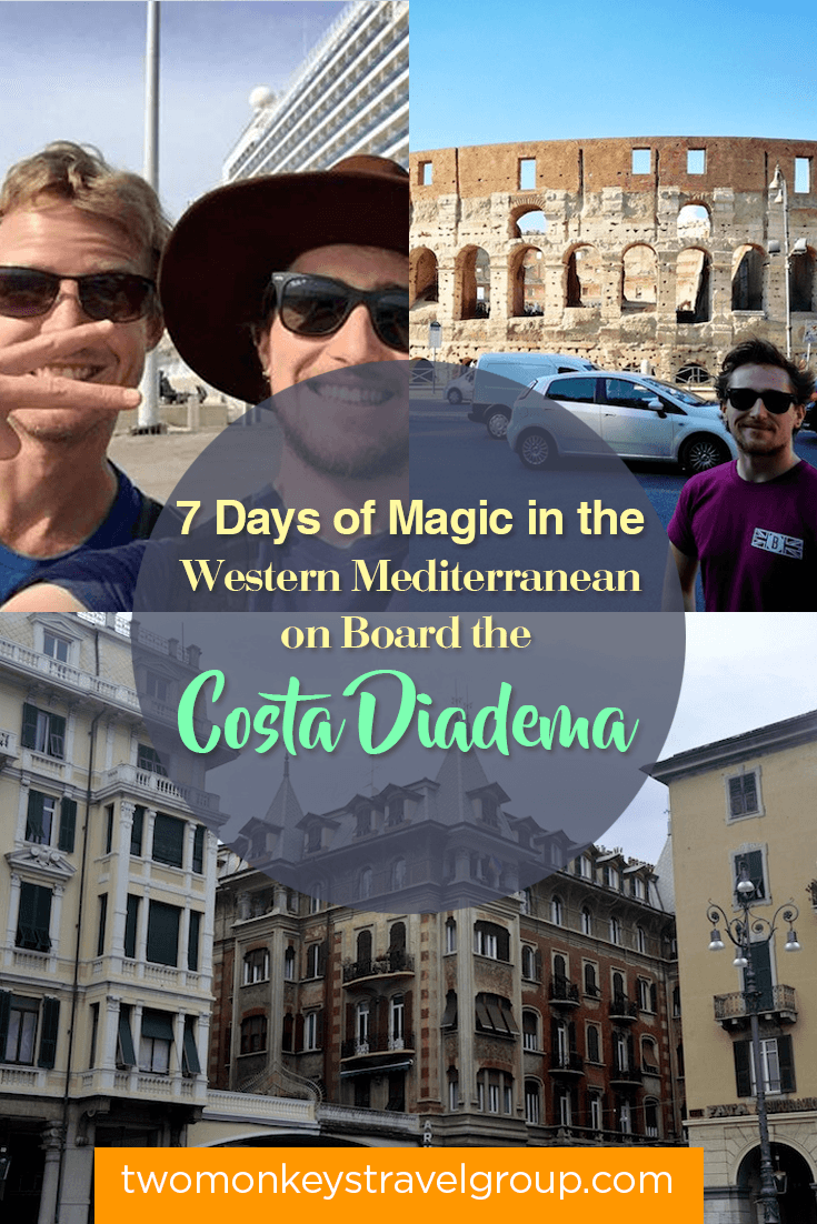7 Days of Magic in the Western Mediterranean on Board the Costa Diadema