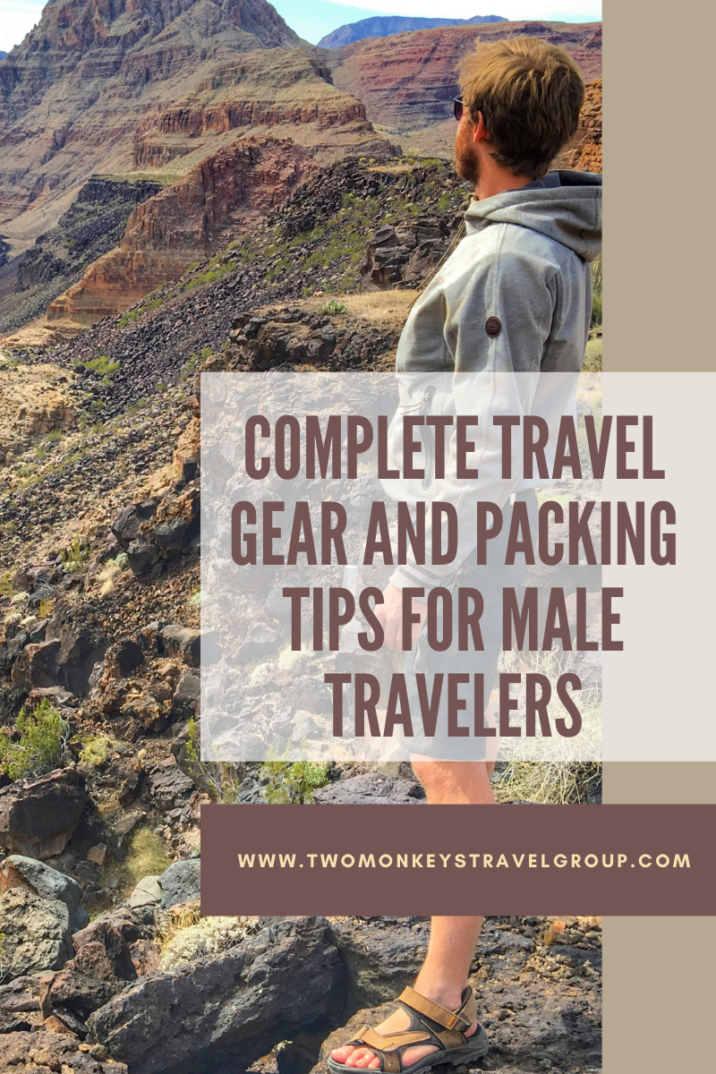 Complete Travel Gear and Packing Tips for Male Travelers
