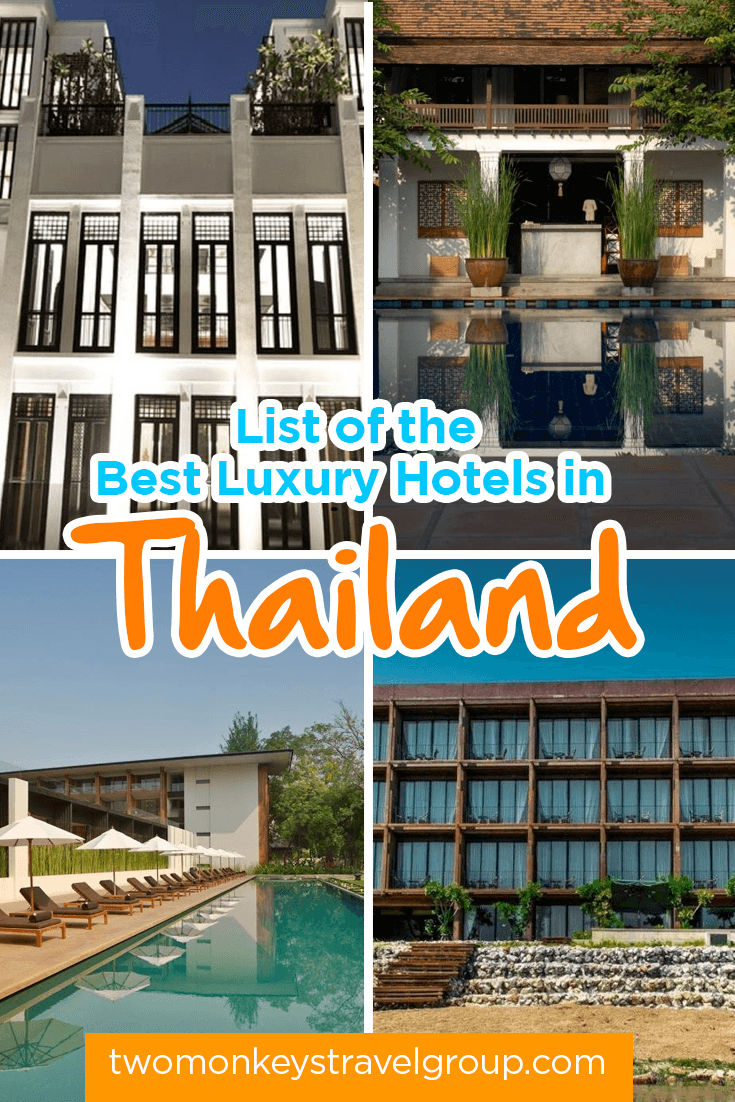 List of the Best Luxury Hotels in Thailand