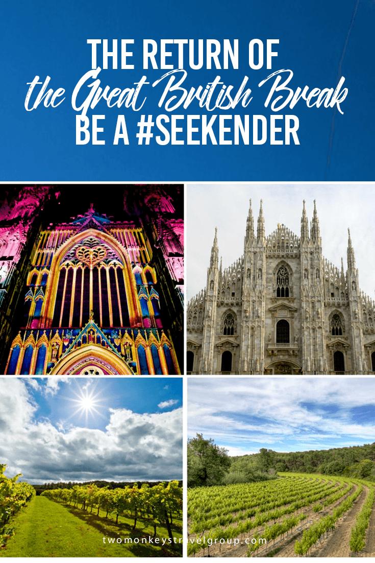 The Return of the Great British Break – Be a #Seekender