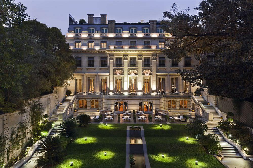 ultimate list of best luxury hotels in argentina buenos aires palacio duhau park hyatt buenos aires