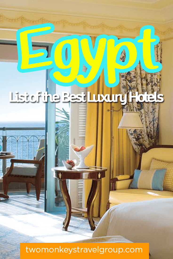List of the Best Luxury Hotels in Egypt