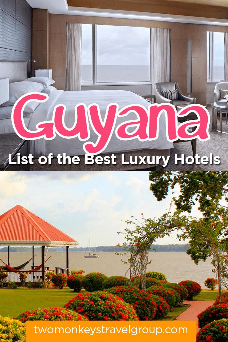 List of the best luxury hotels in guyana for List of luxury hotels