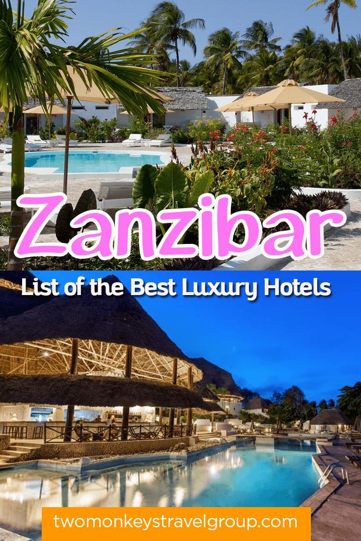 List of the best luxury hotels in zanzibar updated for 2018 for List of luxury hotels