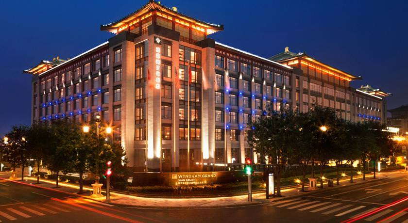 Ultimate List of Best Luxury Hotels in China, Xi'an, Wyndham Grand Xian South Hotel