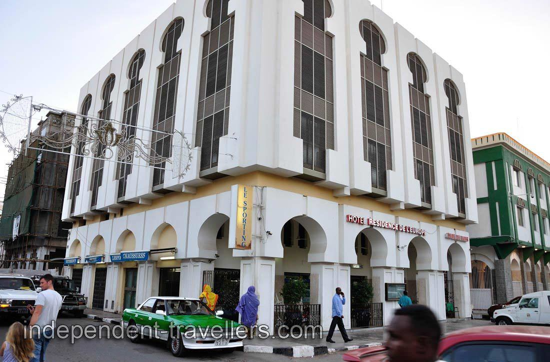 Ultimate List of Best Luxury Hotels in Djibouti, Hotel Residence de l'Europe