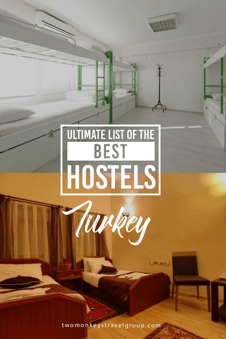 Ultimate List of The Best Hostels in Turkey