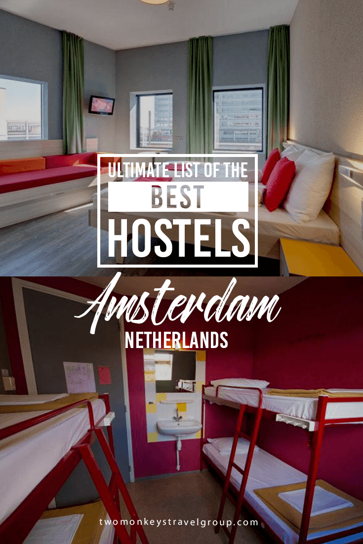 Ultimate List of the Best Hostels in Amsterdam, Netherlands