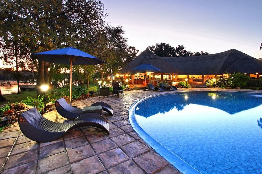 Ultimate list of best luxury hotels and backpacker hostels in Victoria Falls, Zimbabwe_A'Zambezi River Lodge