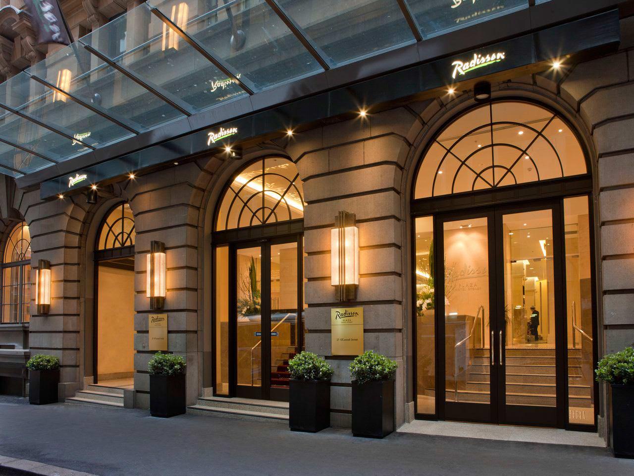 Ultimate list of best luxury hotels in Sydney, Australia Radisson Blu Plaza Hotel