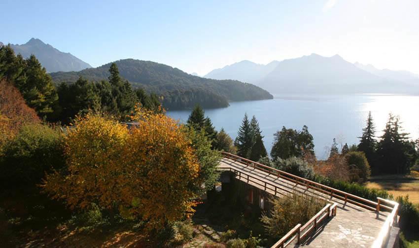 Witness the Beautiful Scenery from Hotel Tunquelen, San Carlos de Bariloche, Patagonia