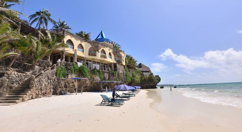 ultimate list of best (luxury or backpacker) hotels (or hostels) in (Mombasa, Kenya) (Bahari Beach Hotel)