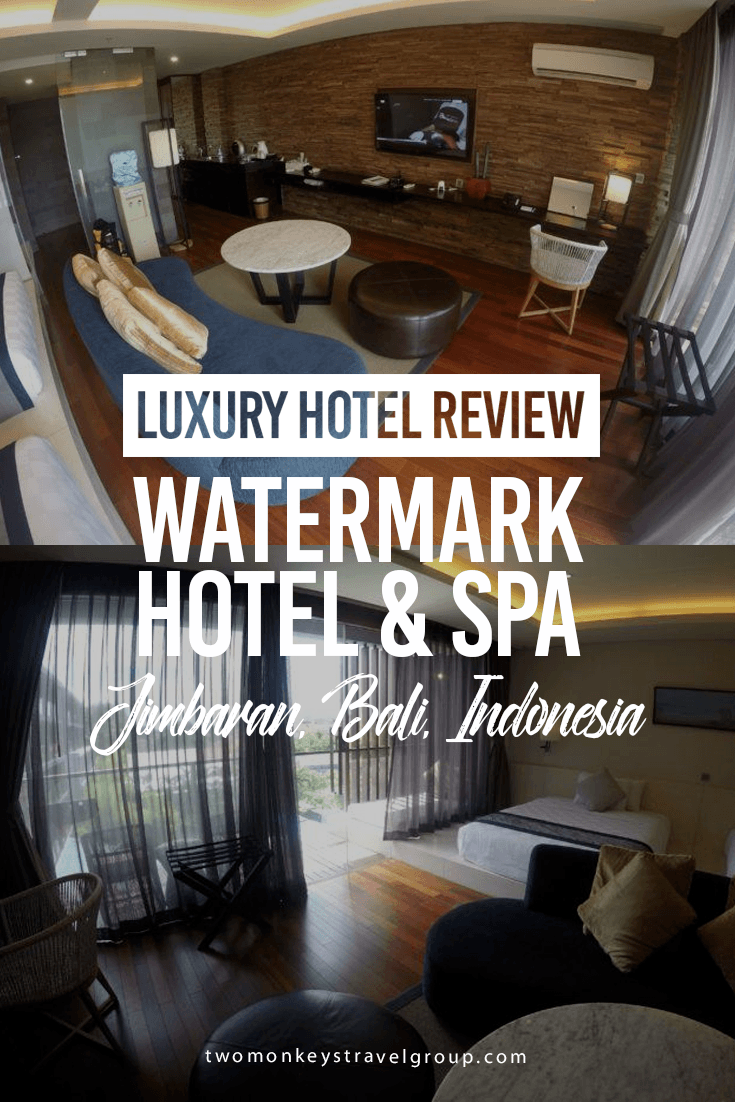 Luxury Hotel Review: Watermark Hotel & Spa Jimbaran, Bali, Indonesia