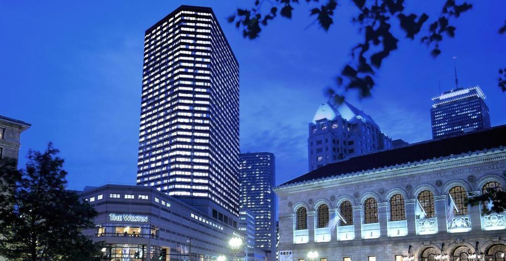 Ultimate List of Best Luxury Hotels in Back Bay, Boston, The Westin Copley Place Boston