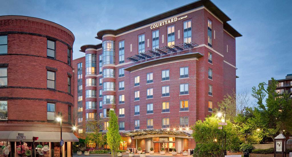 Ultimate List of Best Luxury Hotels in Brookline , Massachusetts, Courtyard by Marriott Boston Brookline