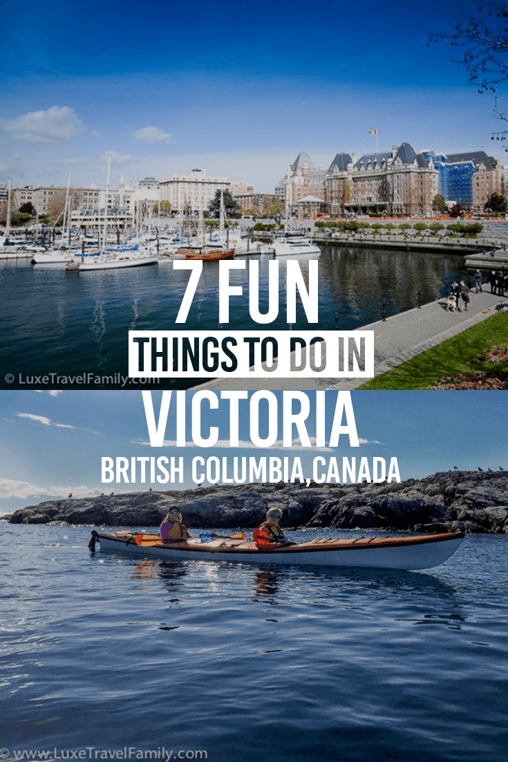 7 Fun Things to Do in Victoria, British Columbia, Canada