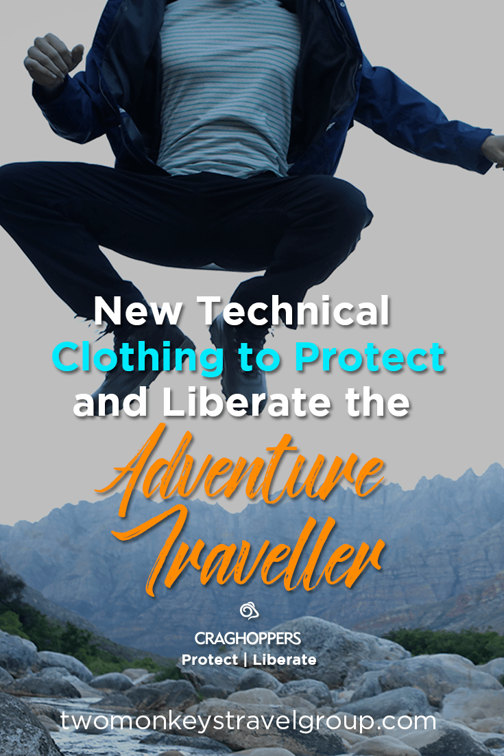 New Technical Clothing to Protect and Liberate the Adventure Traveller