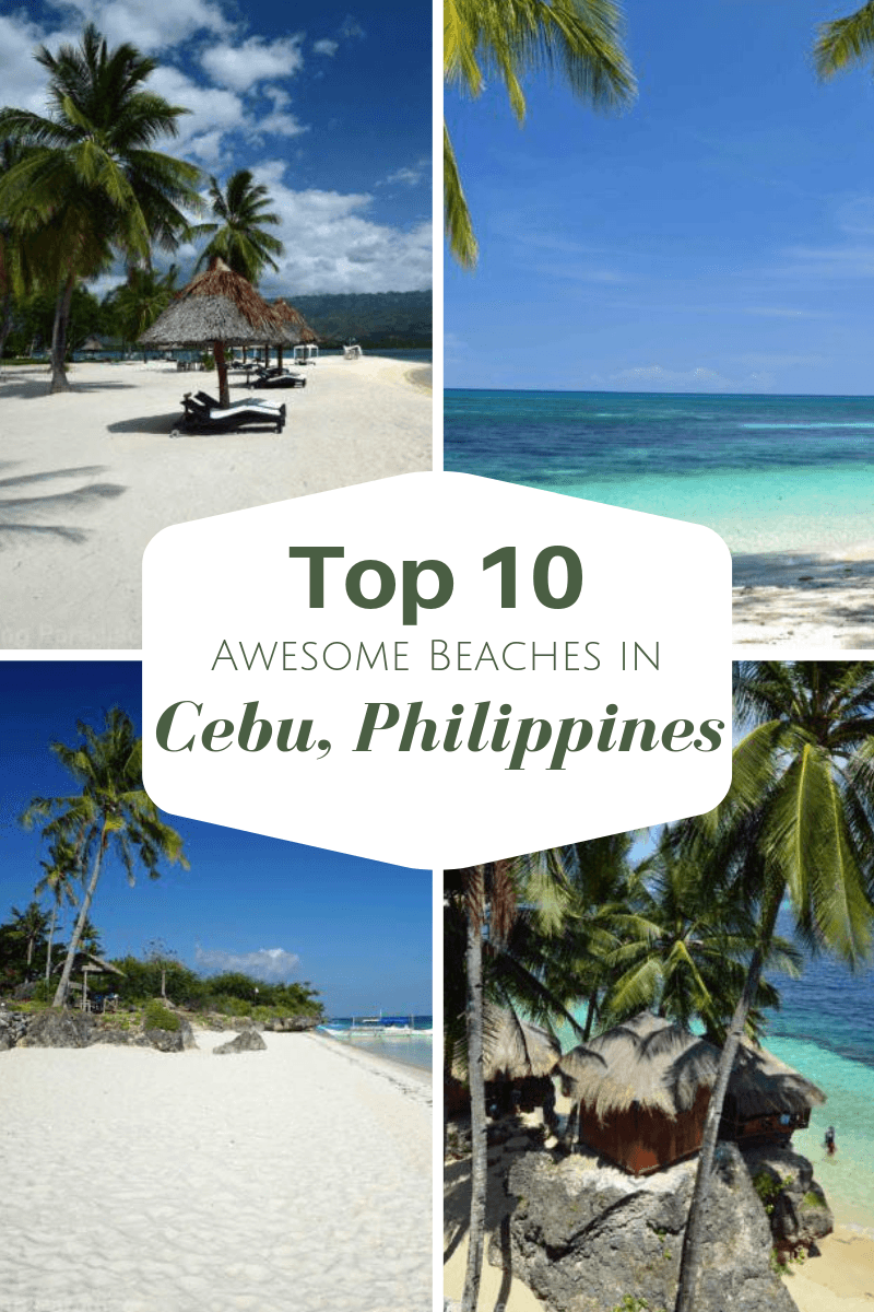 Pinterest top awesome beaches cebu philippines