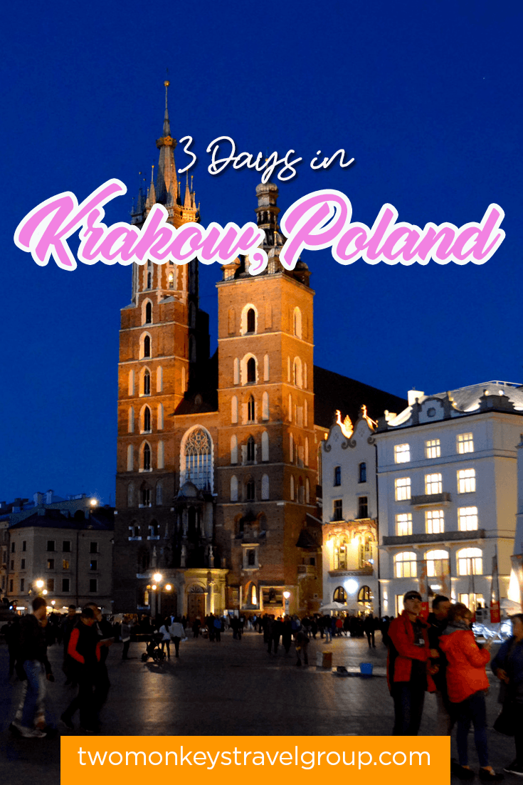 DIY Travel Guide Series 3 Days in Krakow, Poland