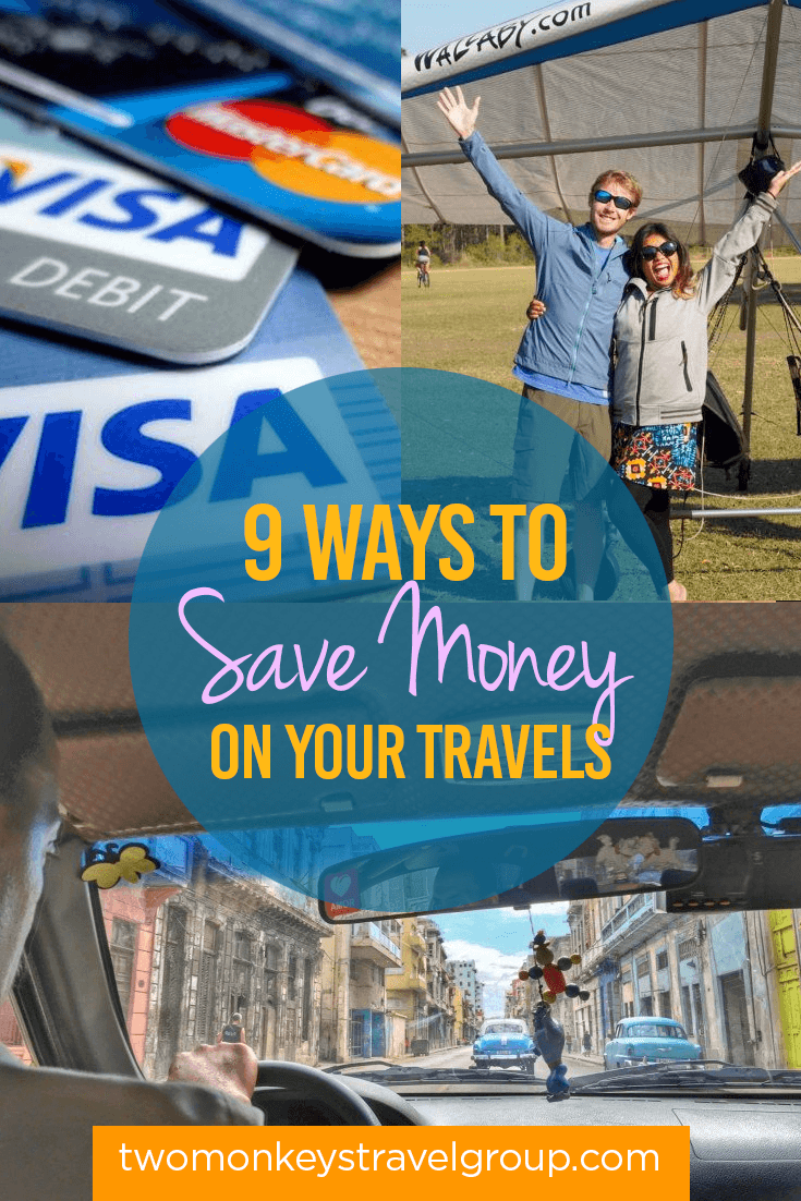 9 Ways To Save Money on Your Travels this 2017