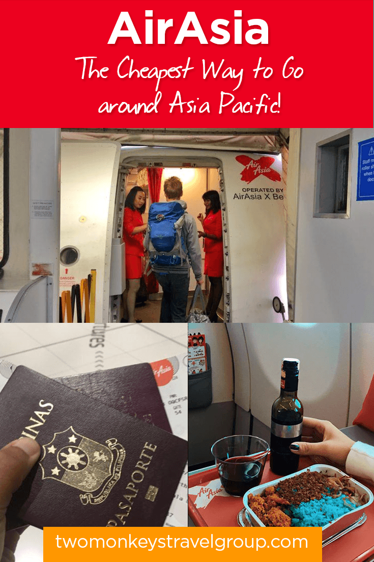 Fly with AirAsia - The Cheapest Way to Travel around Asia Pacific!