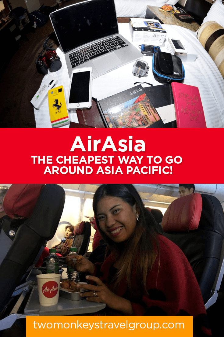 AirAsia - The Cheapest Way to Go around Asia Pacific!