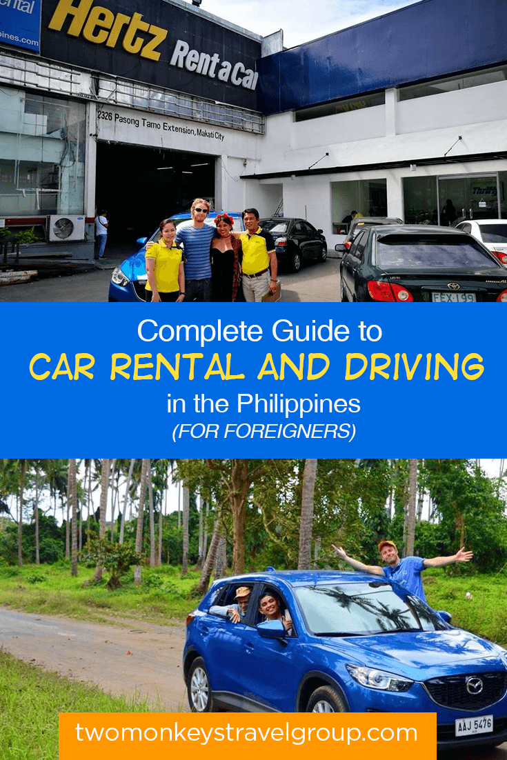Complete Guide to Car Rental & Driving in the Philippines (for Foreigners)
