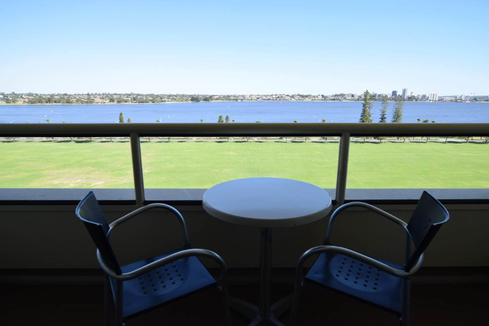 Crowne Plaza Perth A Wonderful Hotel Experience Enhanced by an Expected Reunion Balcony