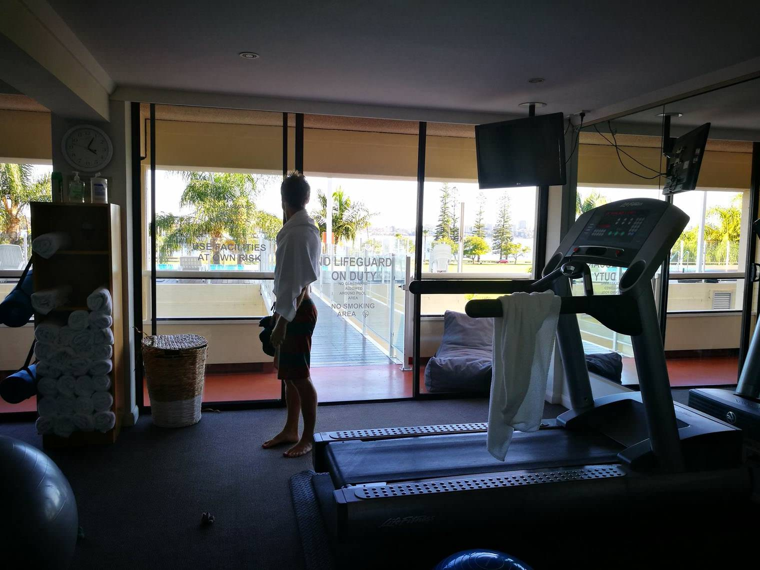 Crowne Plaza Perth A Wonderful Hotel Experience Enhanced by an Expected Reunion Gym