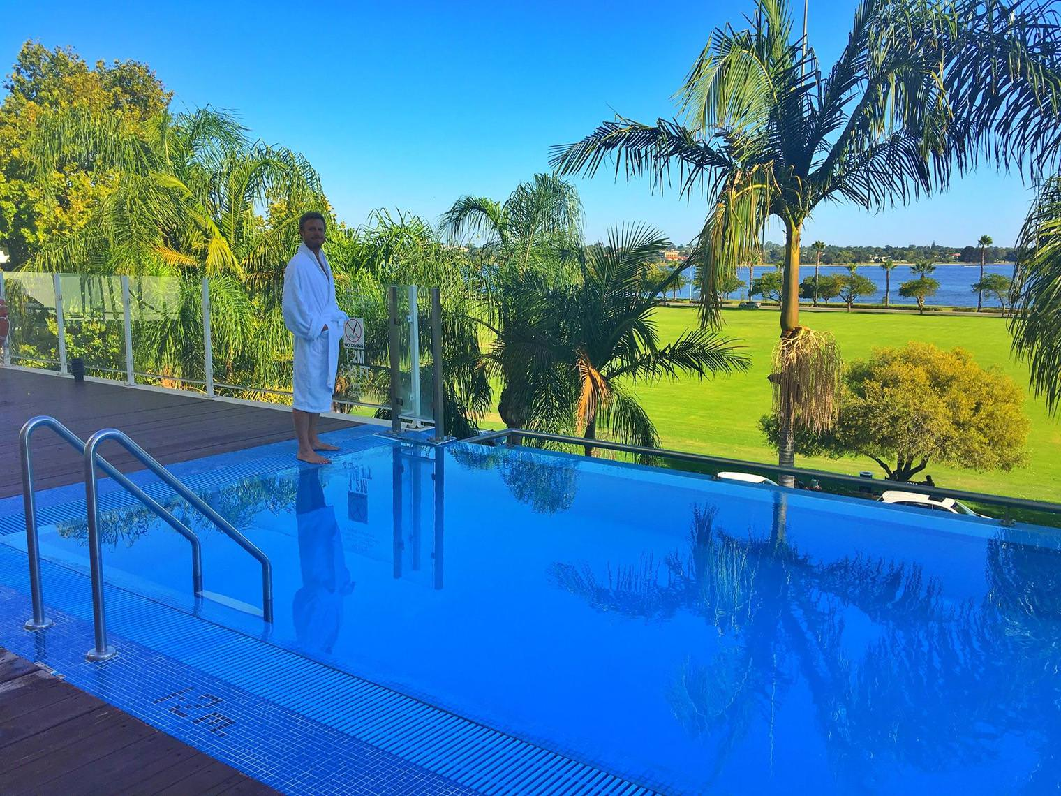 Crowne Plaza Perth A Wonderful Hotel Experience Enhanced by an Expected Reunion Outdoor Pool 1