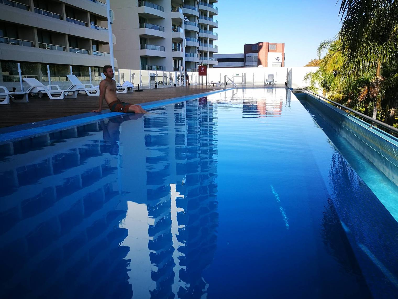 Crowne Plaza Perth A Wonderful Hotel Experience Enhanced by an Expected Reunion Outdoor Pool 2