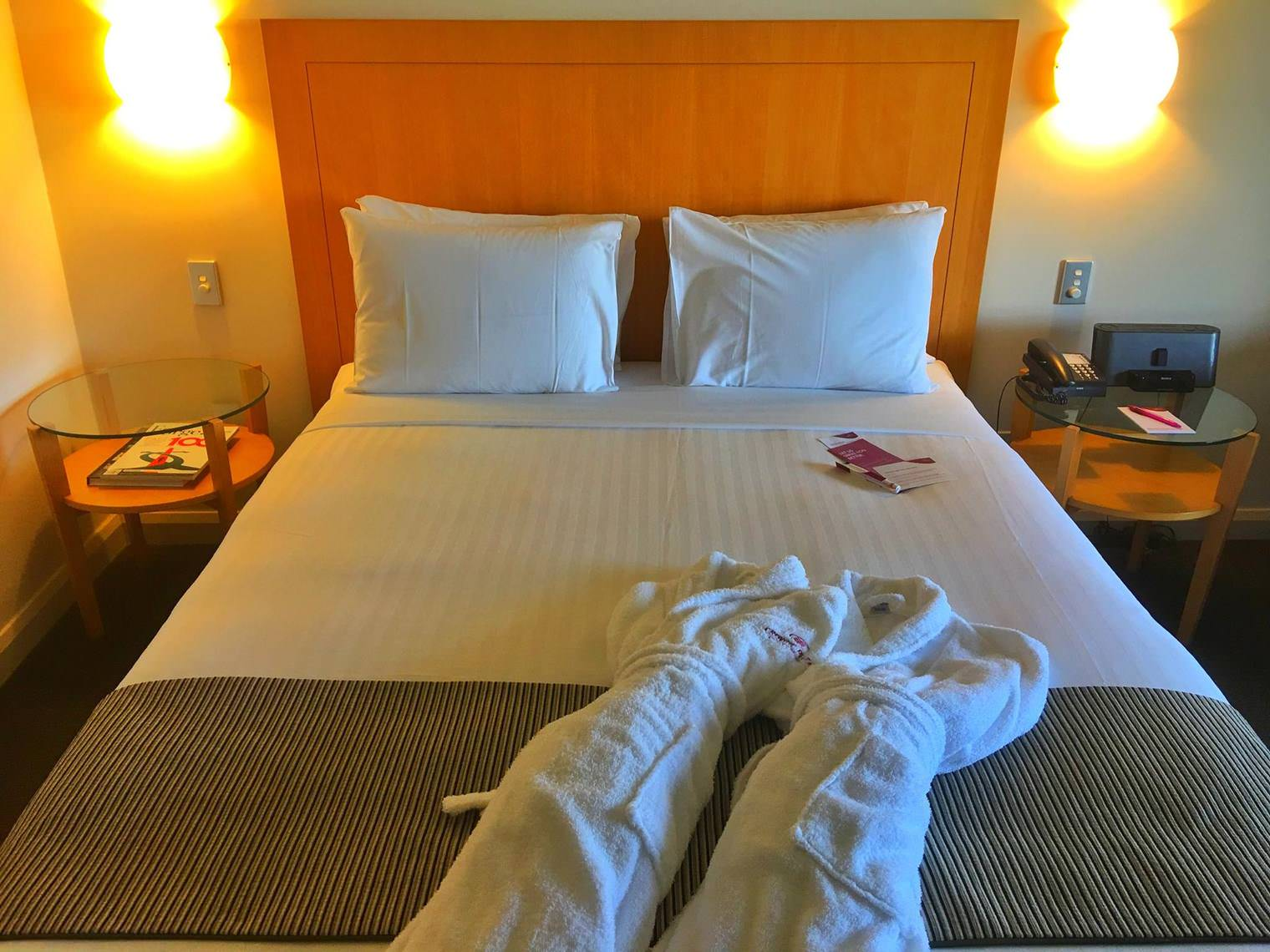 Crowne Plaza Perth A Wonderful Hotel Experience Enhanced by an Expected Reunion Suite Bed