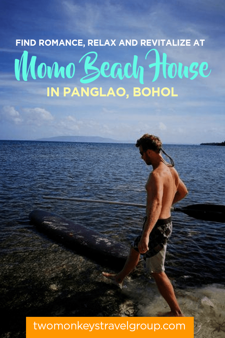 Find Romance, Relax and Revitalize at Momo Beach House in Panglao, Bohol
