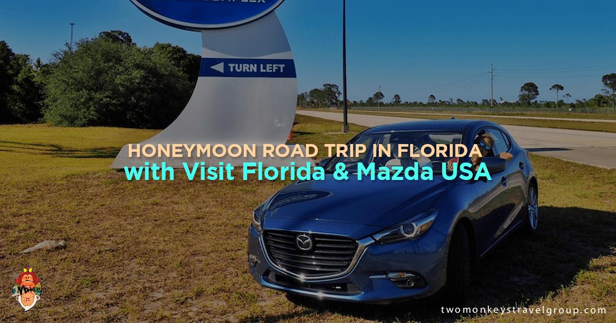 Honeymoon Road Trip in Florida with Visit Florida & Mazda USA