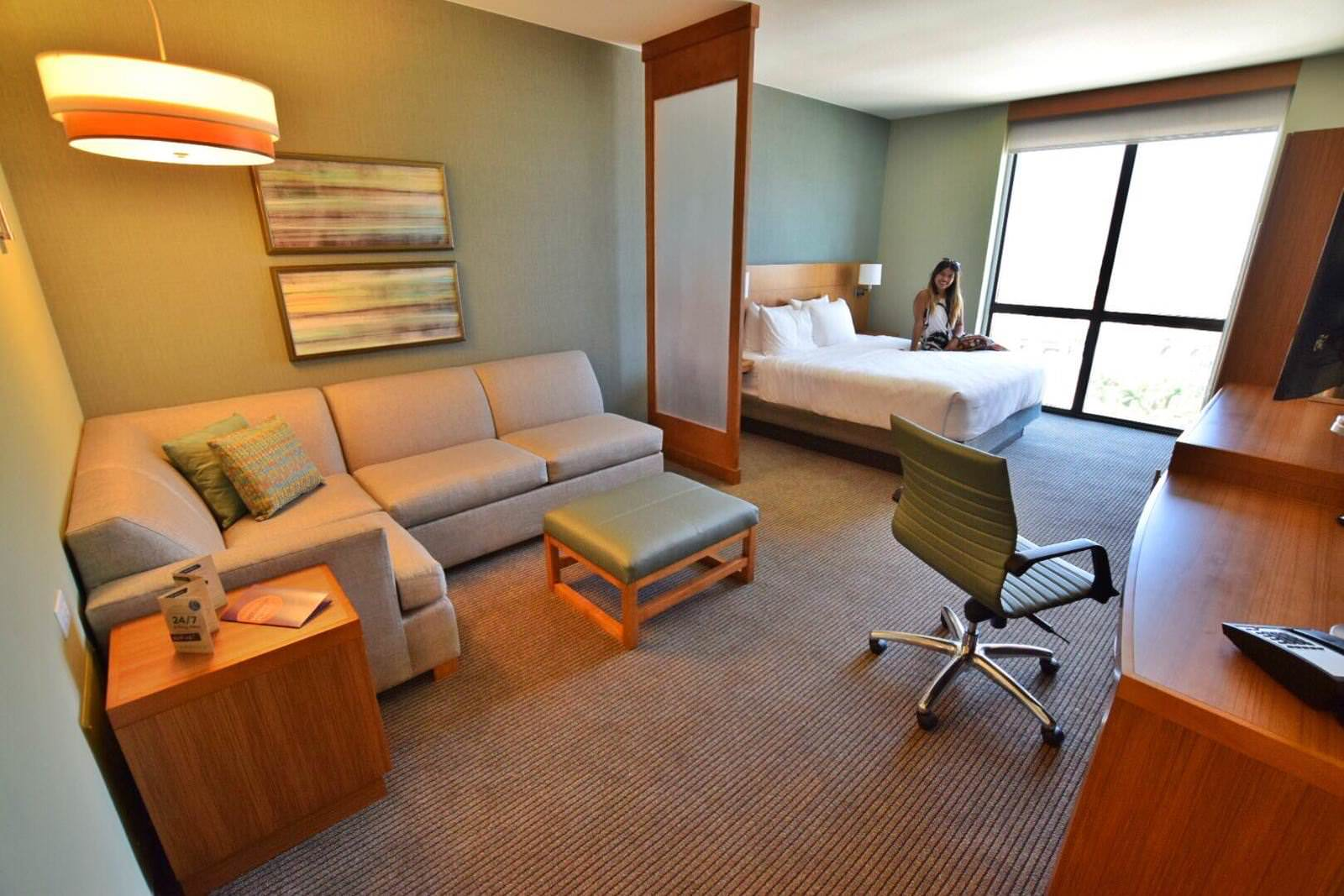 Hyatt Place Boca Raton Suite