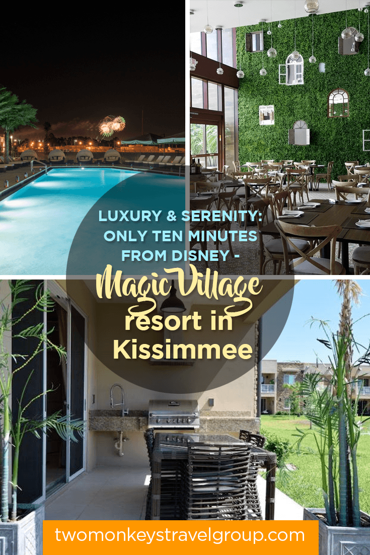 Luxury and Serenity: only ten minutes from Disney - Magic Village resort in Kissimmee