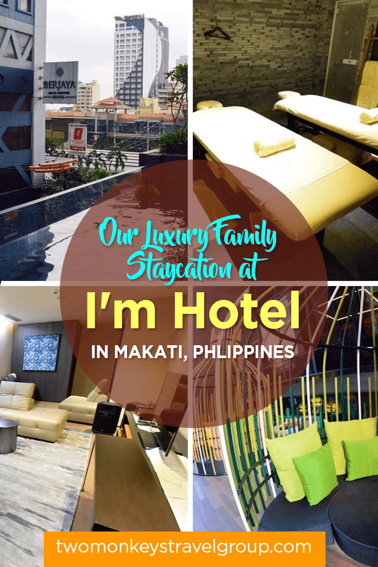 Our Luxury Family Staycation at I'm Hotel in Makati, Phlippines1