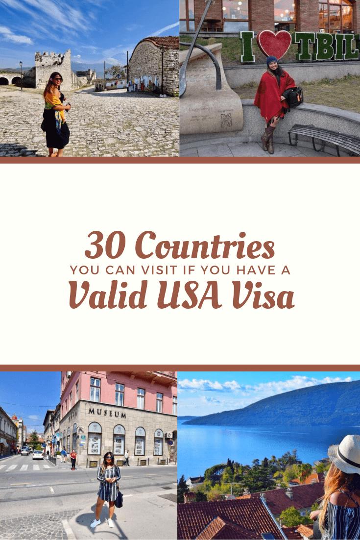 Pinterest countries visit valid usa tourist visa philippines passport