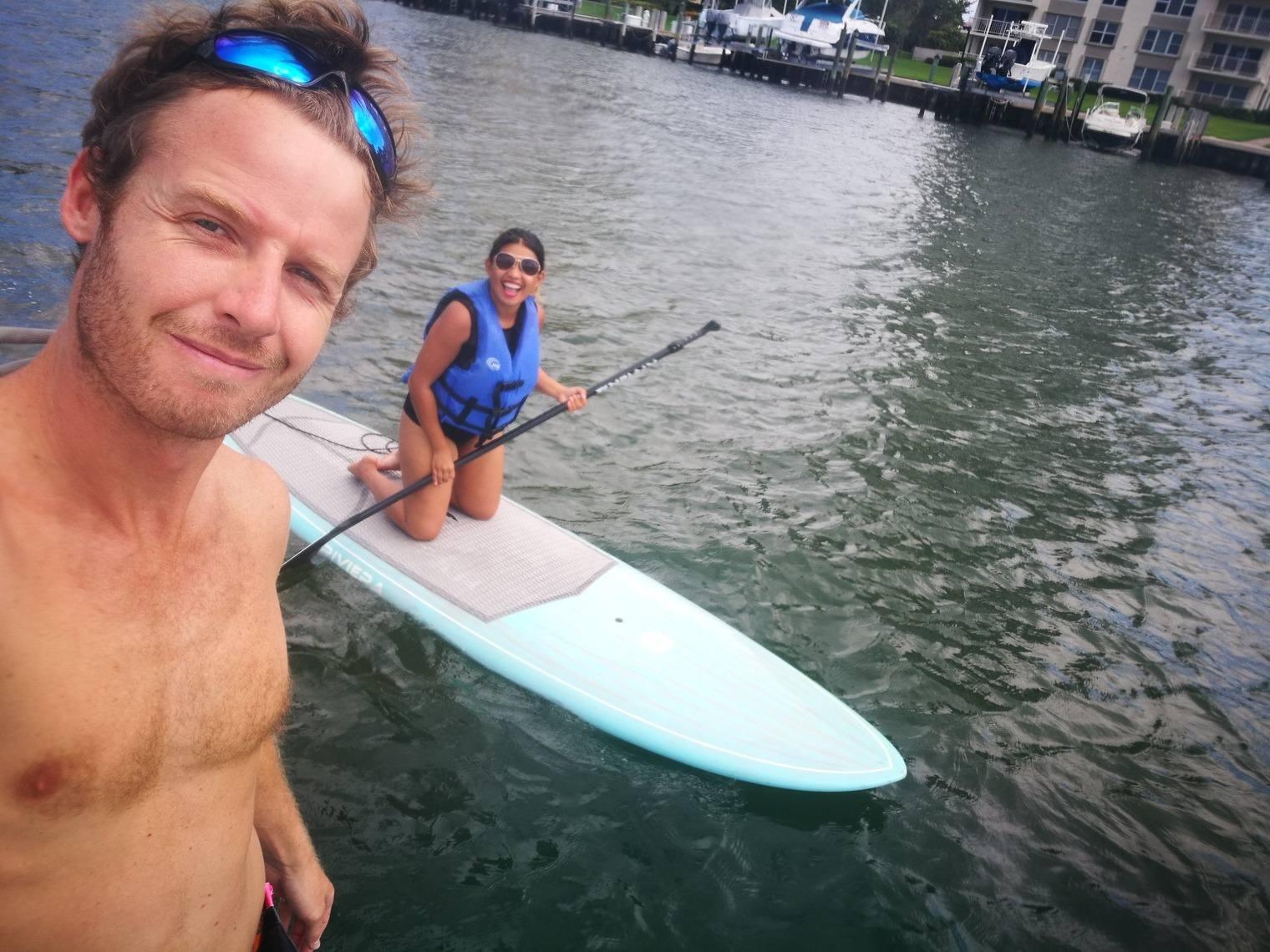 Paddleboarding Boca Raton