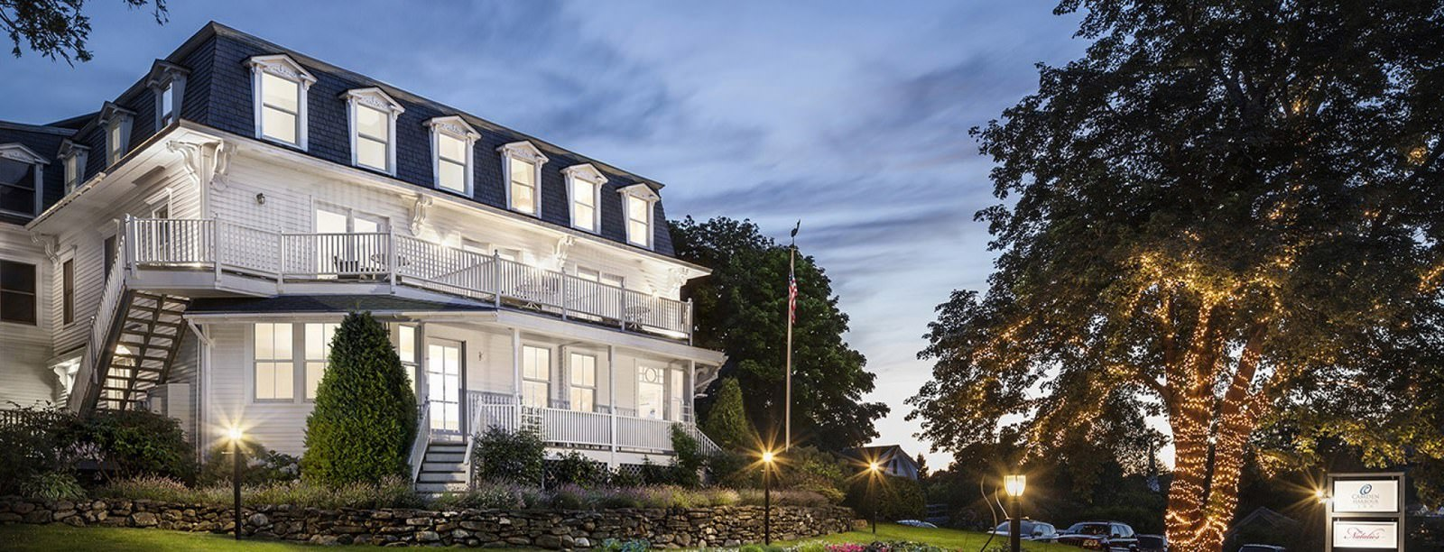 Ultimate List of Best Luxury Hotels in Camden, Maine, Relais Chateaux Camden Harbour hotel