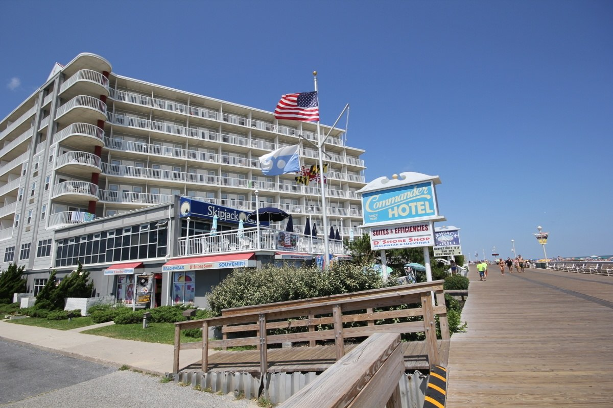 Ultimate List of Best Luxury Hotels in Ocean City, Maryland, Commander Hotel